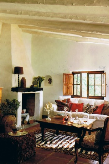 self catering Andalucian farmhouse nr Malaga