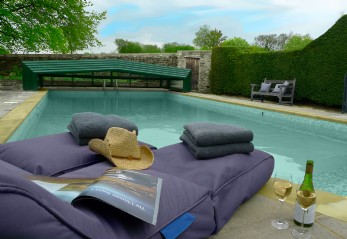 luxury self-catering with pool Somerset