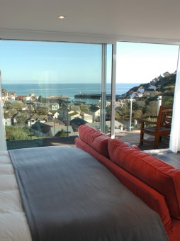 large self-catering house in cornwall with swimming pool
