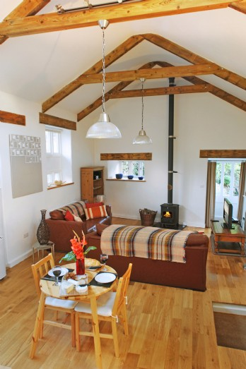 Luxury cosy holiday cottage close to St Ives